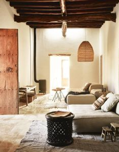 Island getaway private house ibiza on behance also macarena gea casasrusticasestilobohemio chic rh pinterest