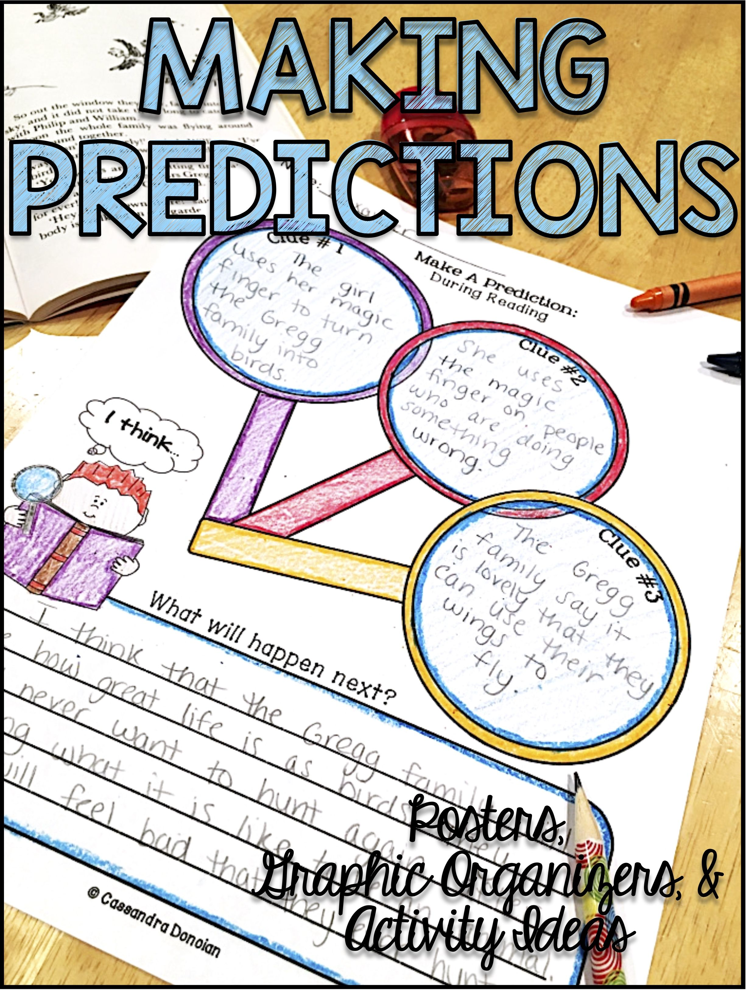 Making Inferences Graphic Organizers Reading Strategy Poster Amp Activity Ideas