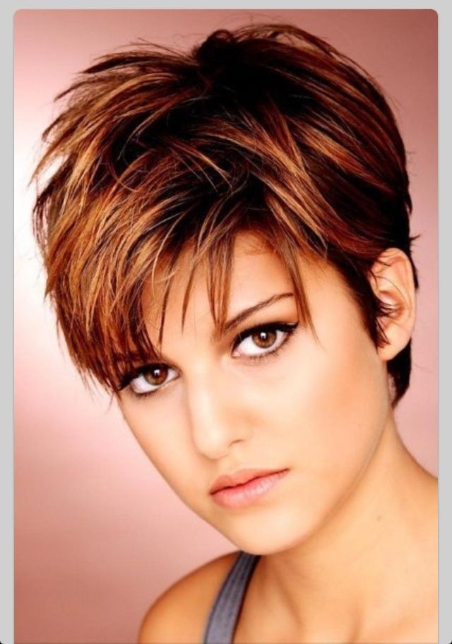 Short Hairstyles For Round Faces Woman Hairstyles Search And