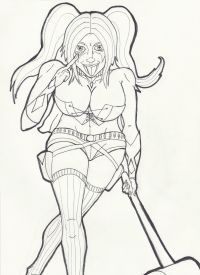 Harley Quinn Suicide Squad Coloring Pages | Coloring Pages ...