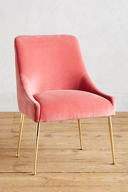Velvet Elowen Chair  Velvet chairs Chairs and Pink velvet
