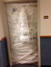 Halloween dorm door decorating competition. | College Life ...