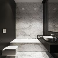 M :: Townhouse by Igor Sirotov Architect #bathroom #marble ...