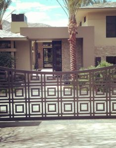 Gorgeous modern metal gate jaegermetal also best images about house drive on pinterest gardens ux ui rh