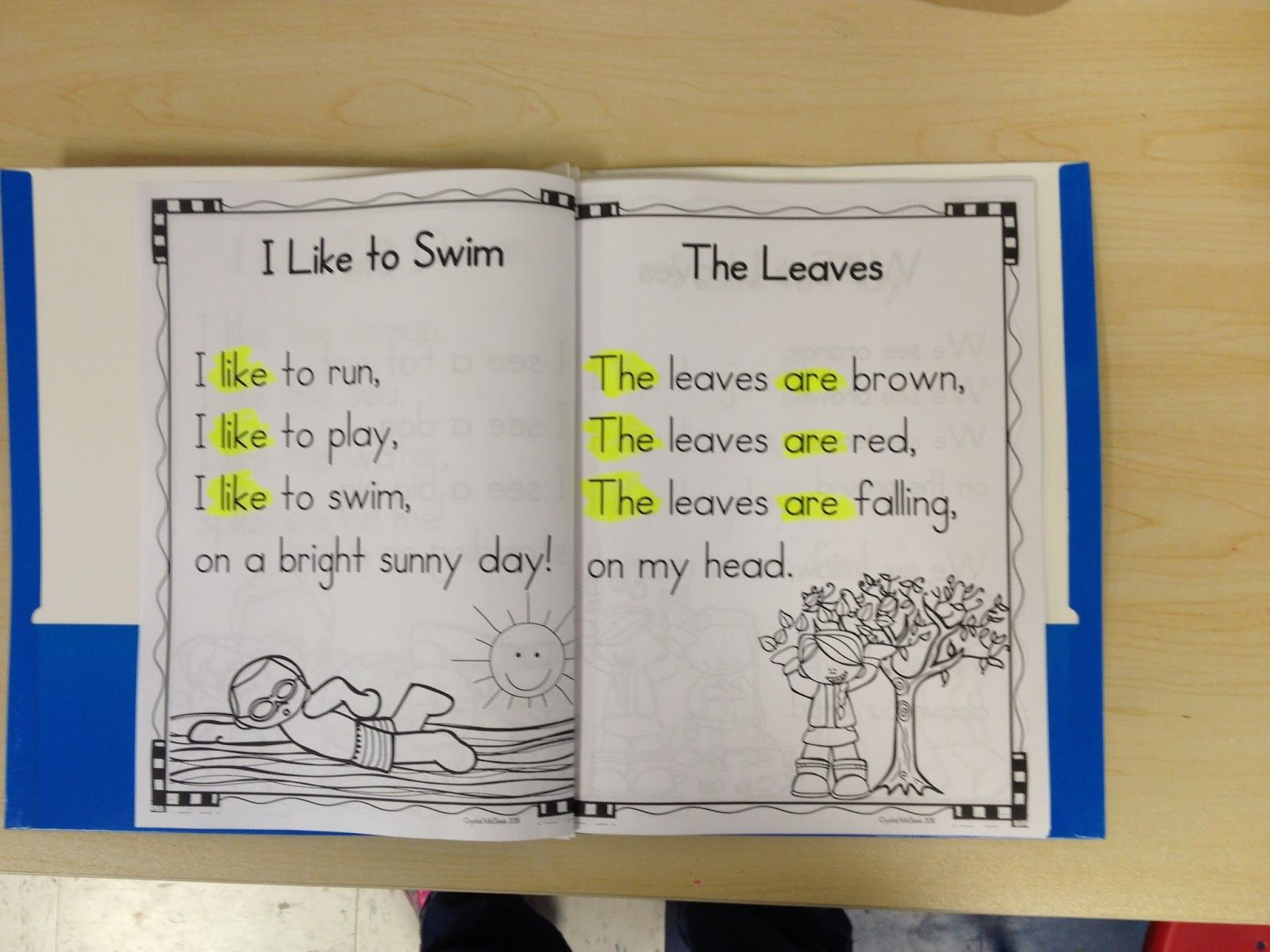 Mrs Mcginnis Little Zizzers Poetry Shared Reading In