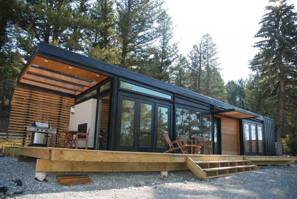 20 Of The Coolest Prefab Homes You've Ever Seen Cabin Modern