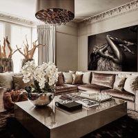 Best 25+ Glamour living room ideas on Pinterest | Silver ...