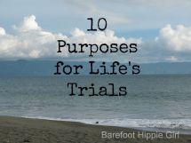 Barefoot Hippie Girl 10 Purposes Life' Trials