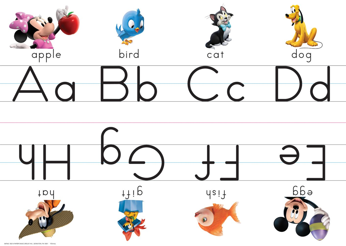 Mickey Mouse Clubhouse Alphabet Sets