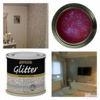 Glitter on the walls how cool is that... | Home Decor ...