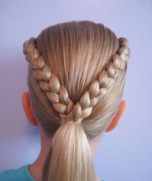 Cool Easy Hairstyles For Girls Easy Braids For Kids With Short