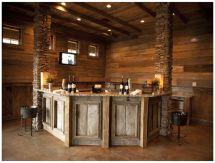 Rustic Basement Bar Ideas