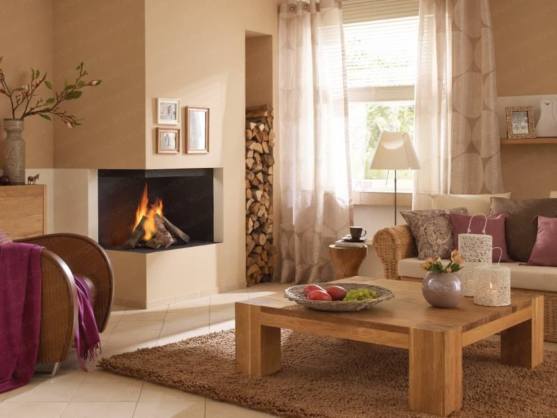 Pin by veronica zanette on Casa  Pinterest  Living rooms Room and Gas fireplace