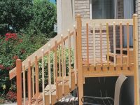 Exterior Stair Railings # Exterior Wooden Stairs And