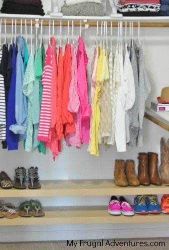 DIY Shoe Organization Racks Easy Ikea Hack  Ikea
