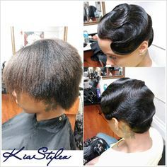 Beyonce Finger Waves Short Black Hair Google Search Hairstyles