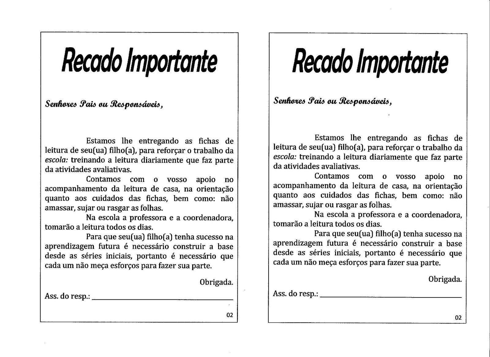 Fichas De Leitura 1