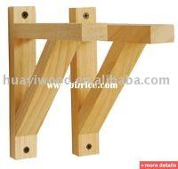 wood shelf support brackets wooden floating shelf wood ...