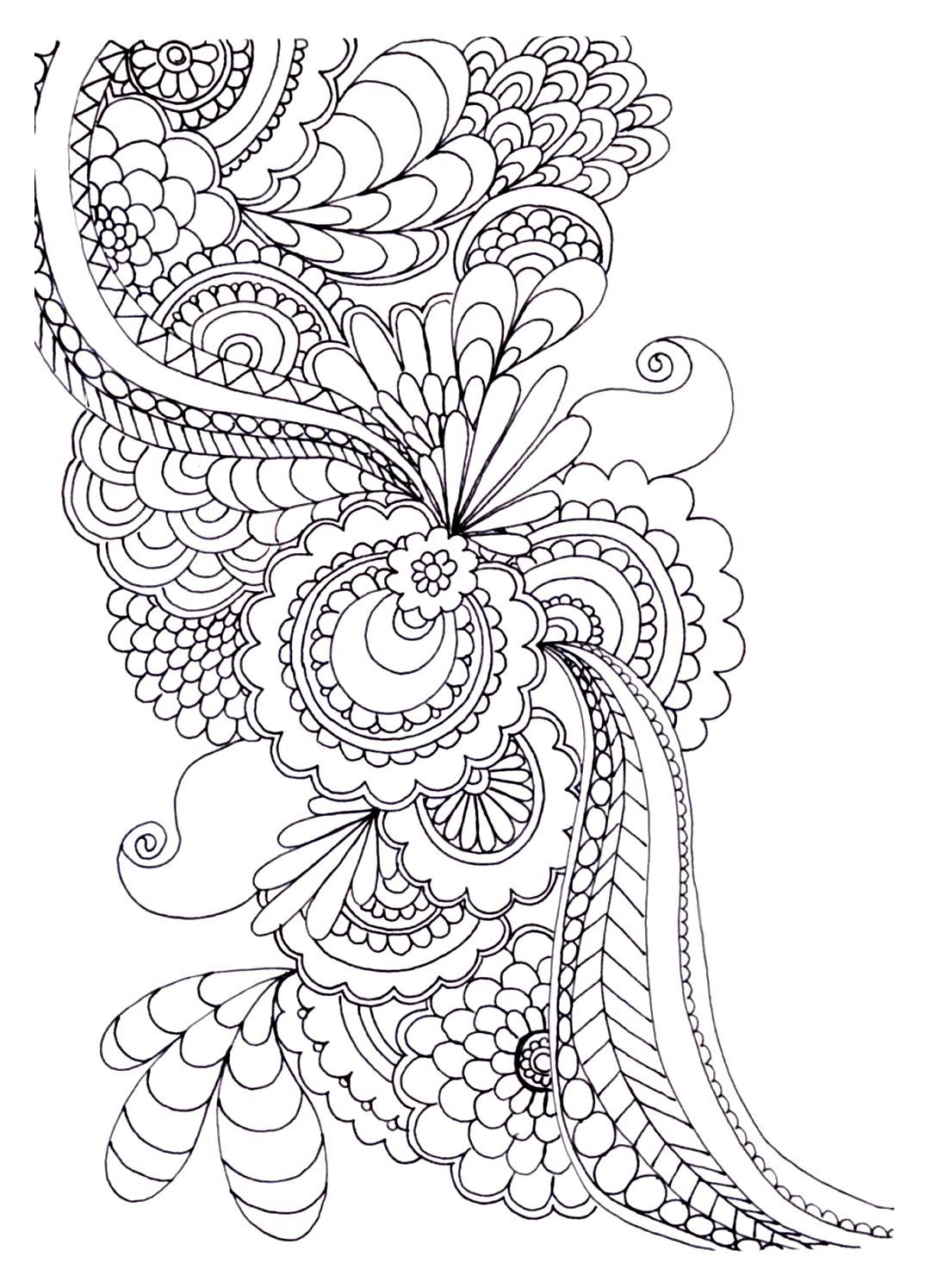 To print this free coloring page «coloring-adult-zen-anti