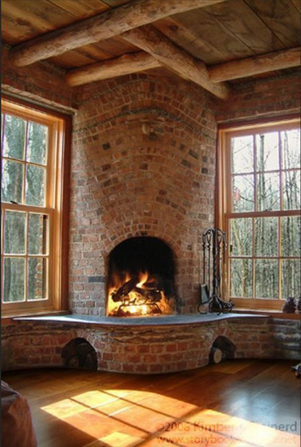 Interior Design Barns with Fireplaces