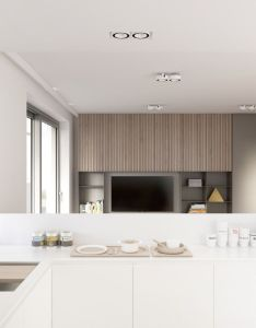 Bridging the gap between modern minimalism and comfortable traditional design these open plan living also rh pinterest