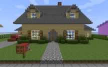 Cool Easy Minecraft House Ideas