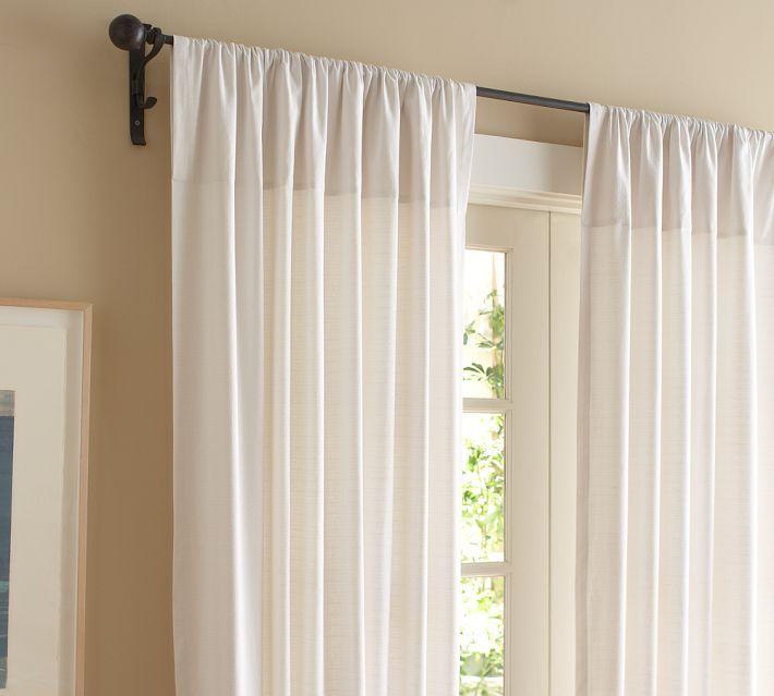 cortinasimplesparasalas  Cortinas  Pinterest