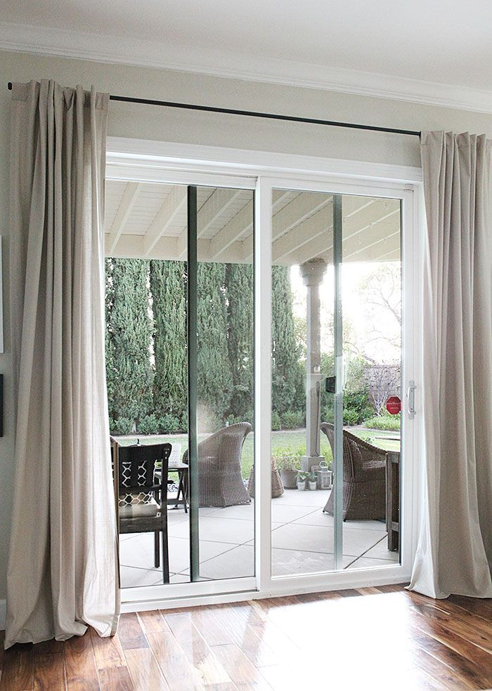 Image Result For Sliding Door Curtains Decorating Pinterest Door Curtains Doors And Window
