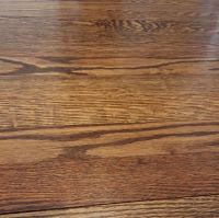 """50/50 Minwax """"special walnut"""" and """"weathered oak"""" stain ..."""