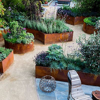 10 Design Ideas For A Tiny Edible Garden Gardens Raised Beds