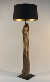 Now rustic wood lamps   Lamps   Pinterest   Rustic wood ...