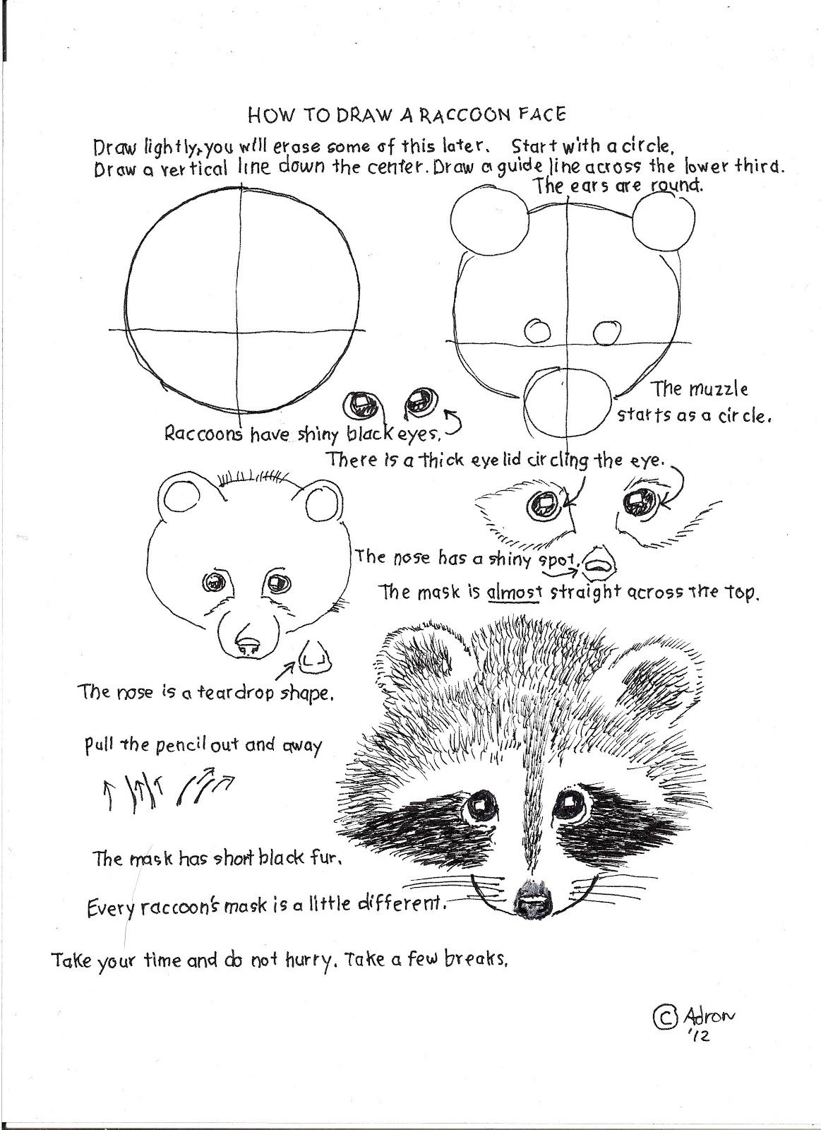 How To Draw Worksheets For Young Artist How To Draw A