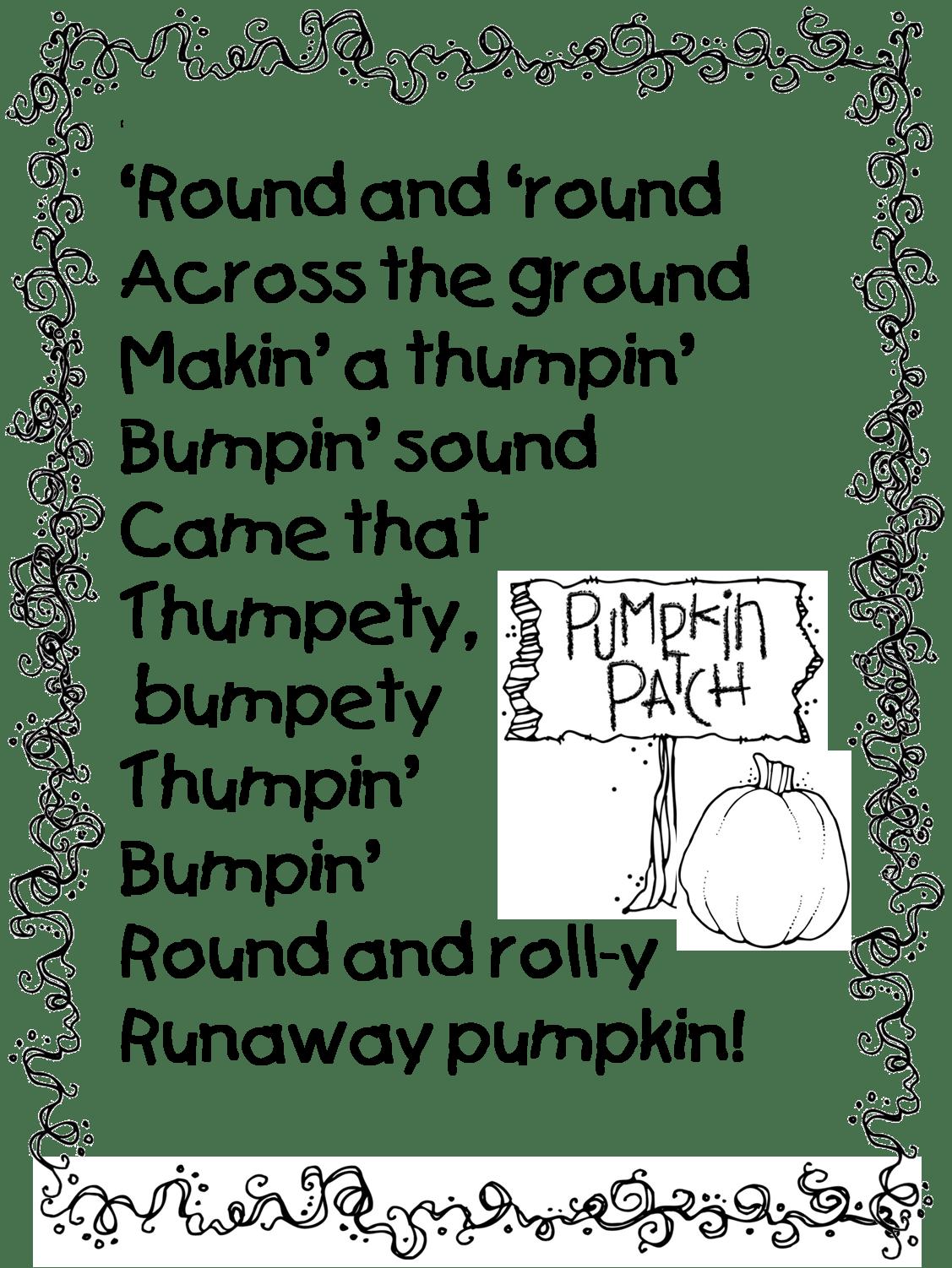 Runaway Pumpkin Poem 1 127 1 502 Pixels
