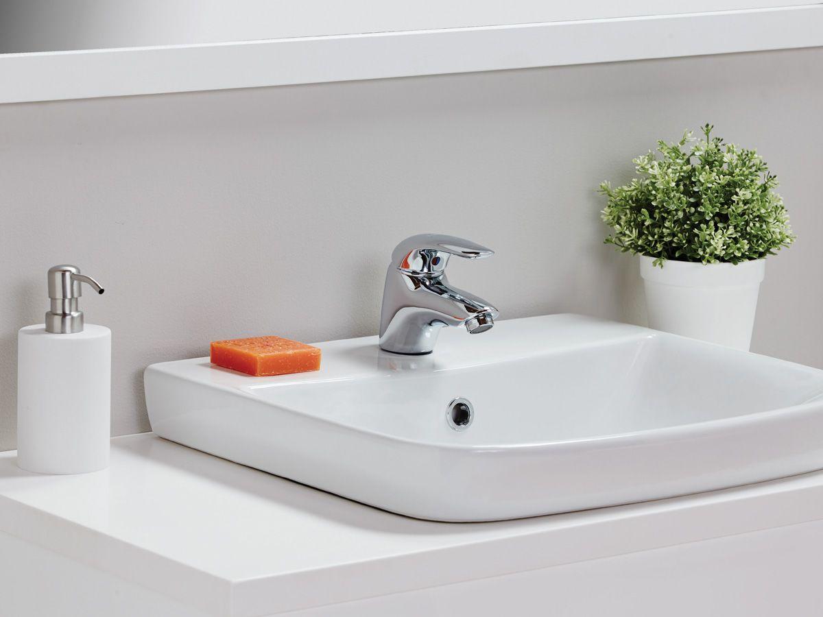 Porcher Cygnet Semi Inset Basin 289  Bathroom  Pinterest  Basin Bathroom renovations perth