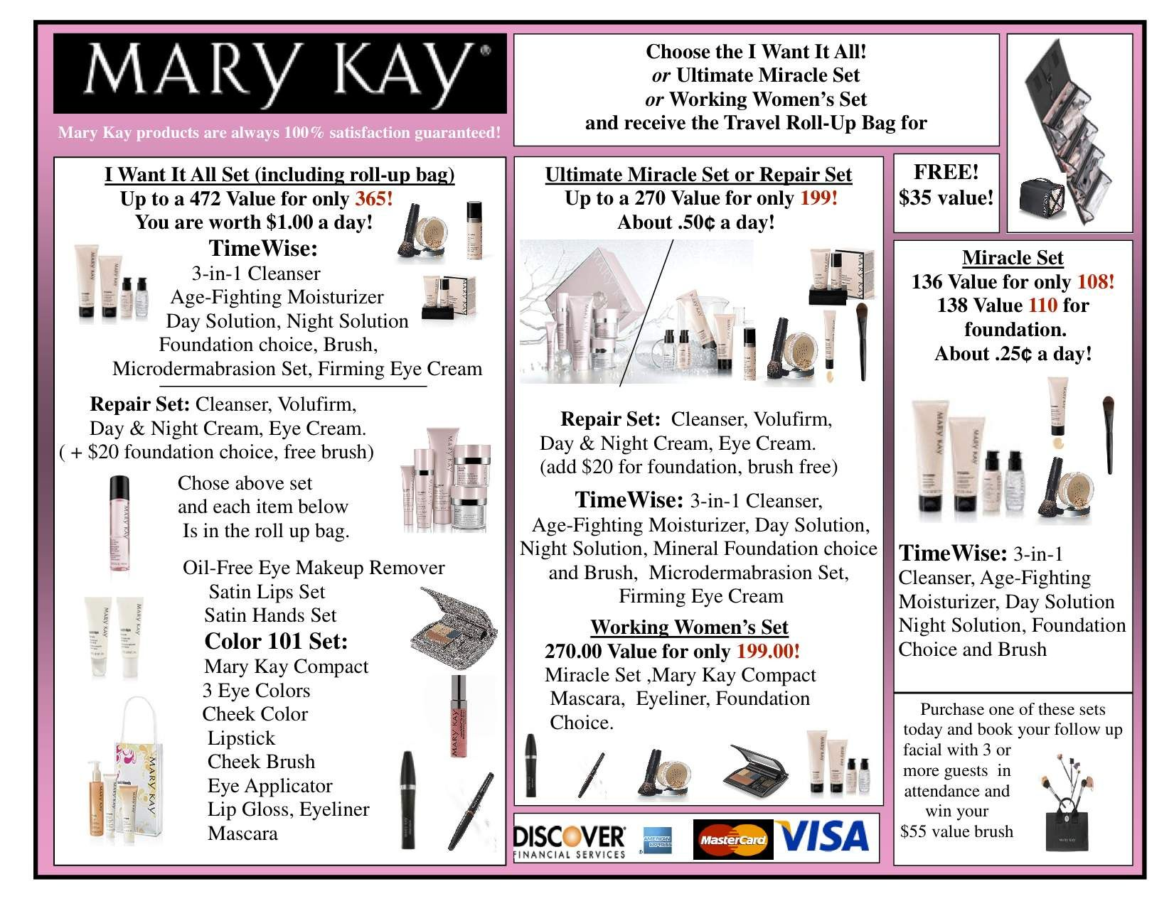 Printable Mary Kay Inventory Sheet