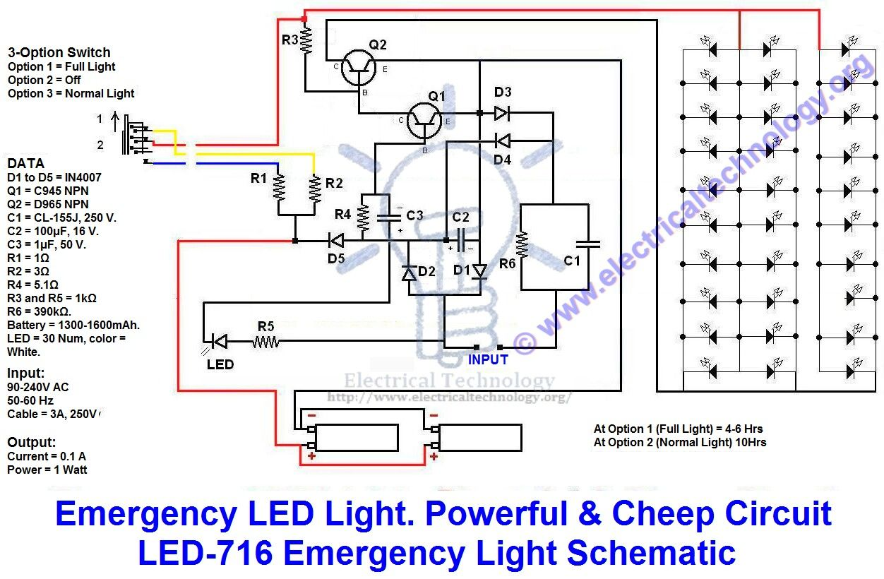 Beautiful Bodine Led Wiring Diagram Ideas - Electrical System Block ...