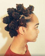 bantu knots hairstyle beautiful