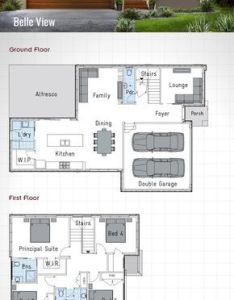 The belle view double storey house design sq    with large bedrooms walk in robes living family and  separate dining room there is plenty of also  rh pinterest