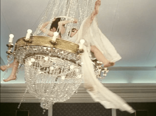 In My House I Would Have A Chandelier You Could Swing On