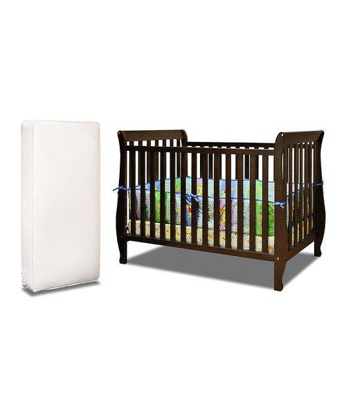 Afg Baby Furniture Espresso Naomi Convertible Crib Mattress