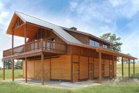 Horse Barn with Loft Apartment | The Denali Barn Apartment ...