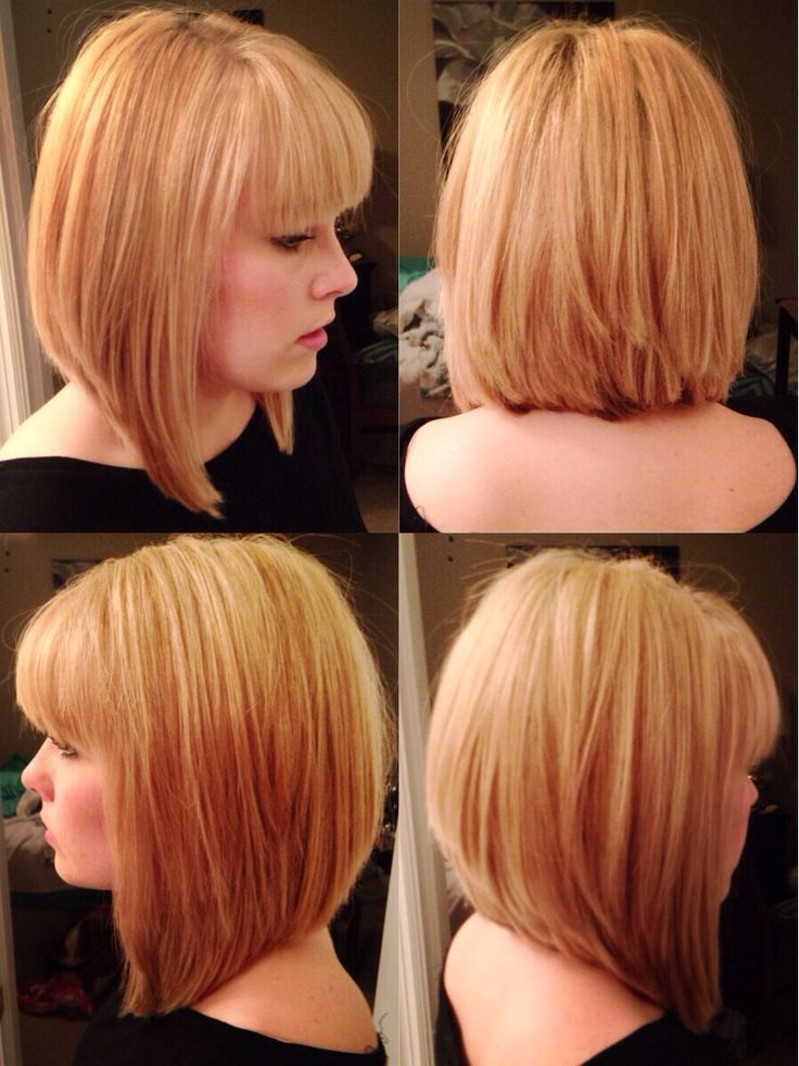 Graduated Bob Hairstyles With Bangs Hairstyles Pinterest