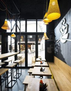 Hekla design global pitaya streetfood restaurant thai interior bois also rh uk pinterest