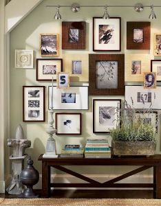 Picture wall idea for the dining room also main ingredient monday frames gallery walls arte rh pinterest