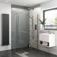 Zenolite plus ash acrylic shower wall panel 2440 x 1220 ...
