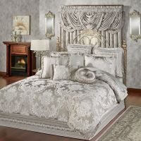 Bellamy Silver Gray Comforter Bedding | Comforter, Gray ...
