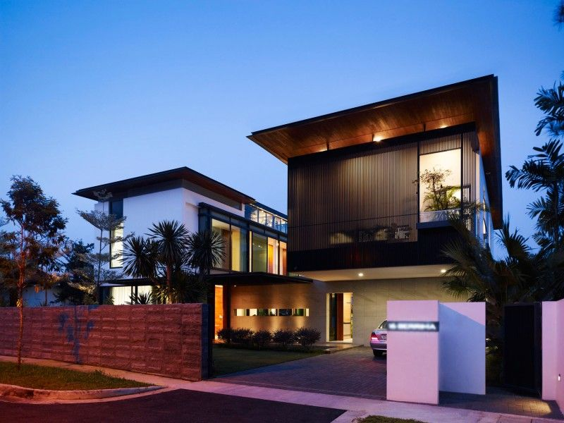 Architectural Designs For Modern Houses Flats Modern Roof