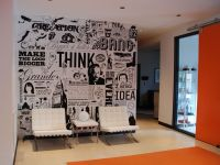 Big Communications Wall Graphic | Doug Van Wie ...