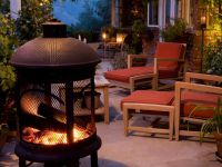 Metal cage fire pit - Backyard Fire Pits | Garden ...