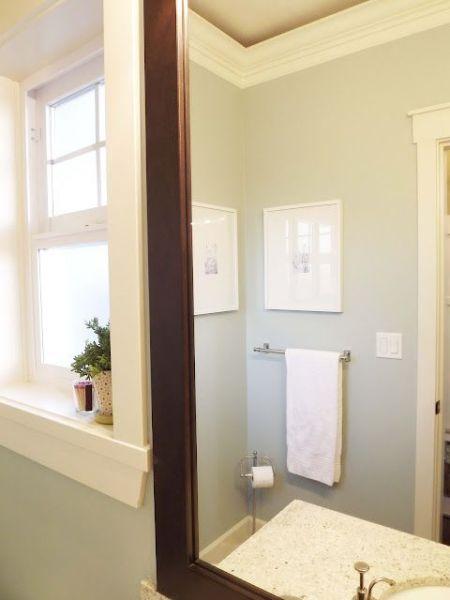 martha stewart bathroom paint color ideas Paint Color - Martha Stewart Rain Water - lovely for a bathroom - really like this pallet | Home